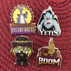 Disney Mascot Pins